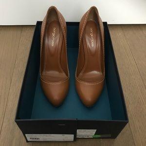 🎉Sale🎉 SERGIO ROSSI Brown leather stiletto heels